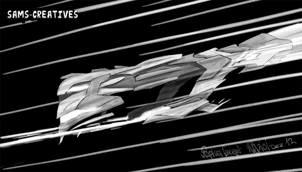 Raptora Raumschiff Konzept