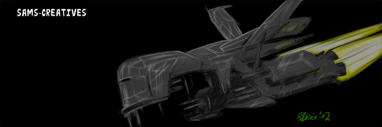 Raptora Spaceship Old Concept