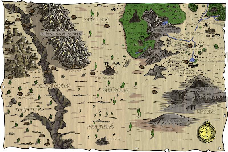 Gedeih und Verderben Karte